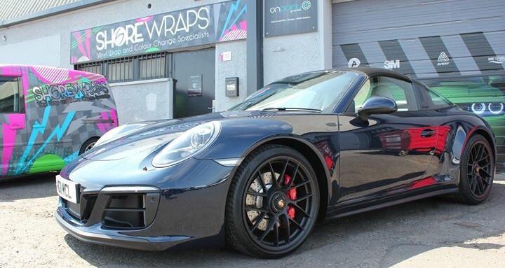 Porsche 911 Targa PPF