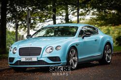 Bentley Car Wrap