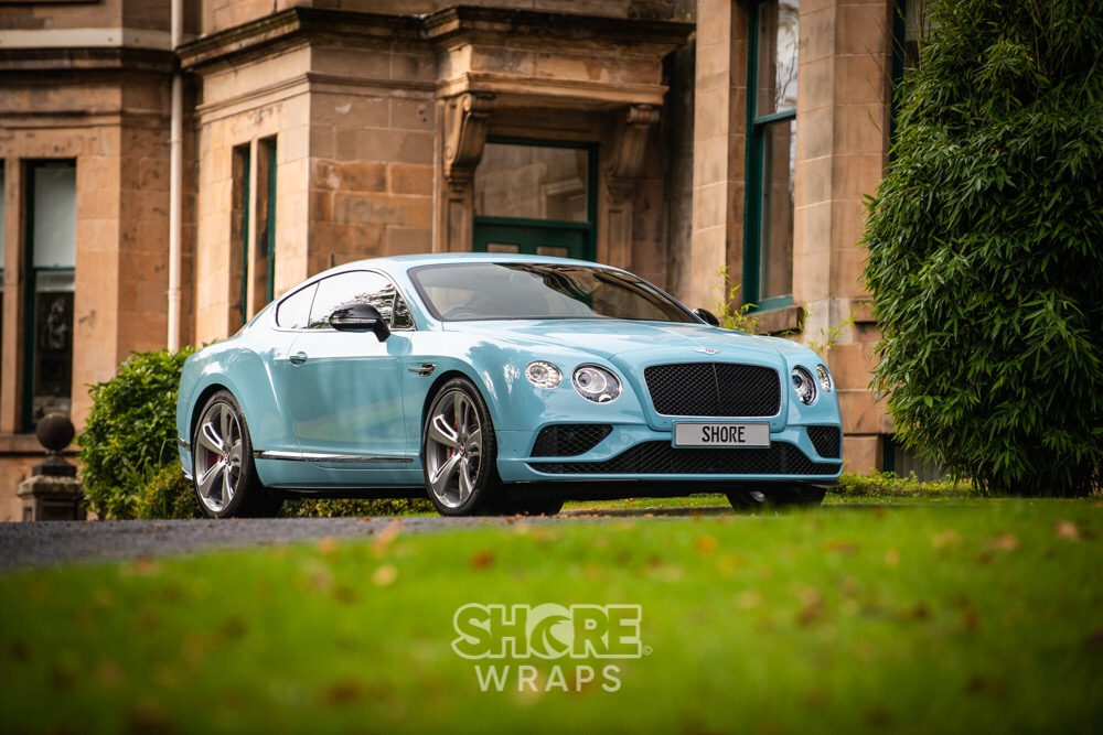 Colour Change Bentley