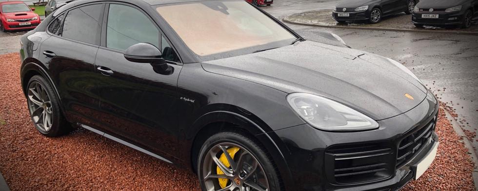Porsche Cayenne Paint Protection Film