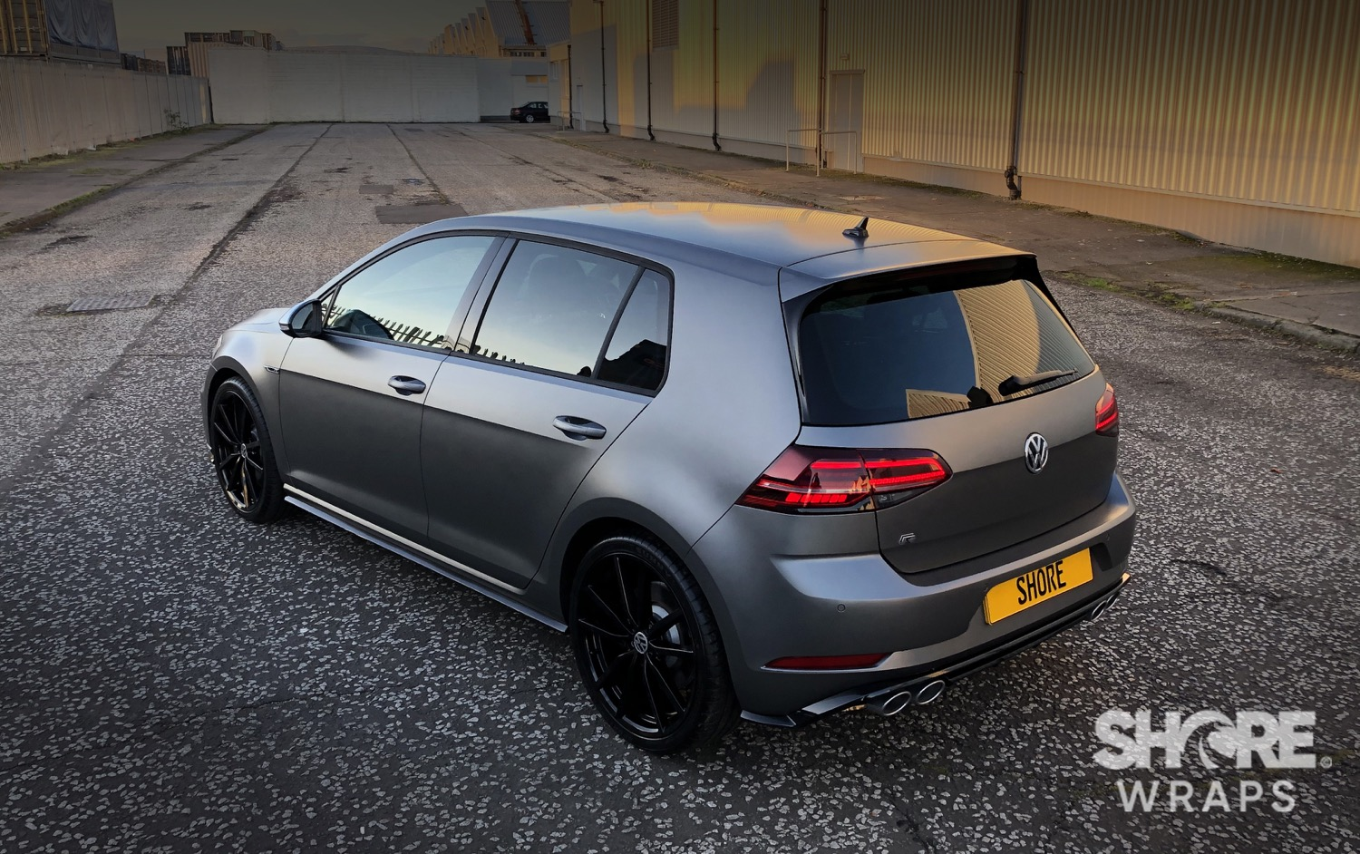 Golf R Matt Grey
