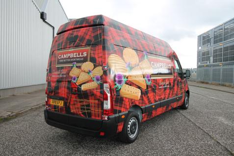 Campbells Shortbread Wrap
