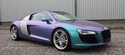 Audi R8 Oracal Lavender Wrap