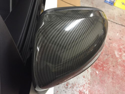 Carbon wrapped wingmirrors