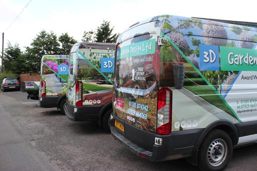 Van wrap Glasgow