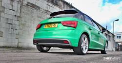Audi A1 3M Gloss Green Envy