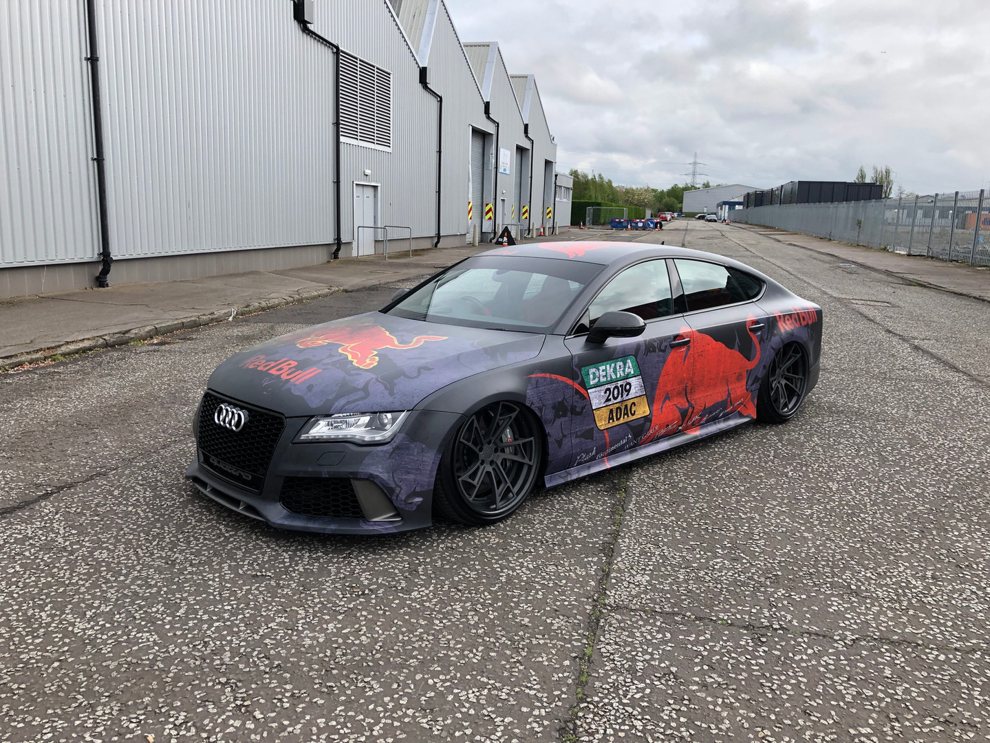 Red Bull Wrapped Audi