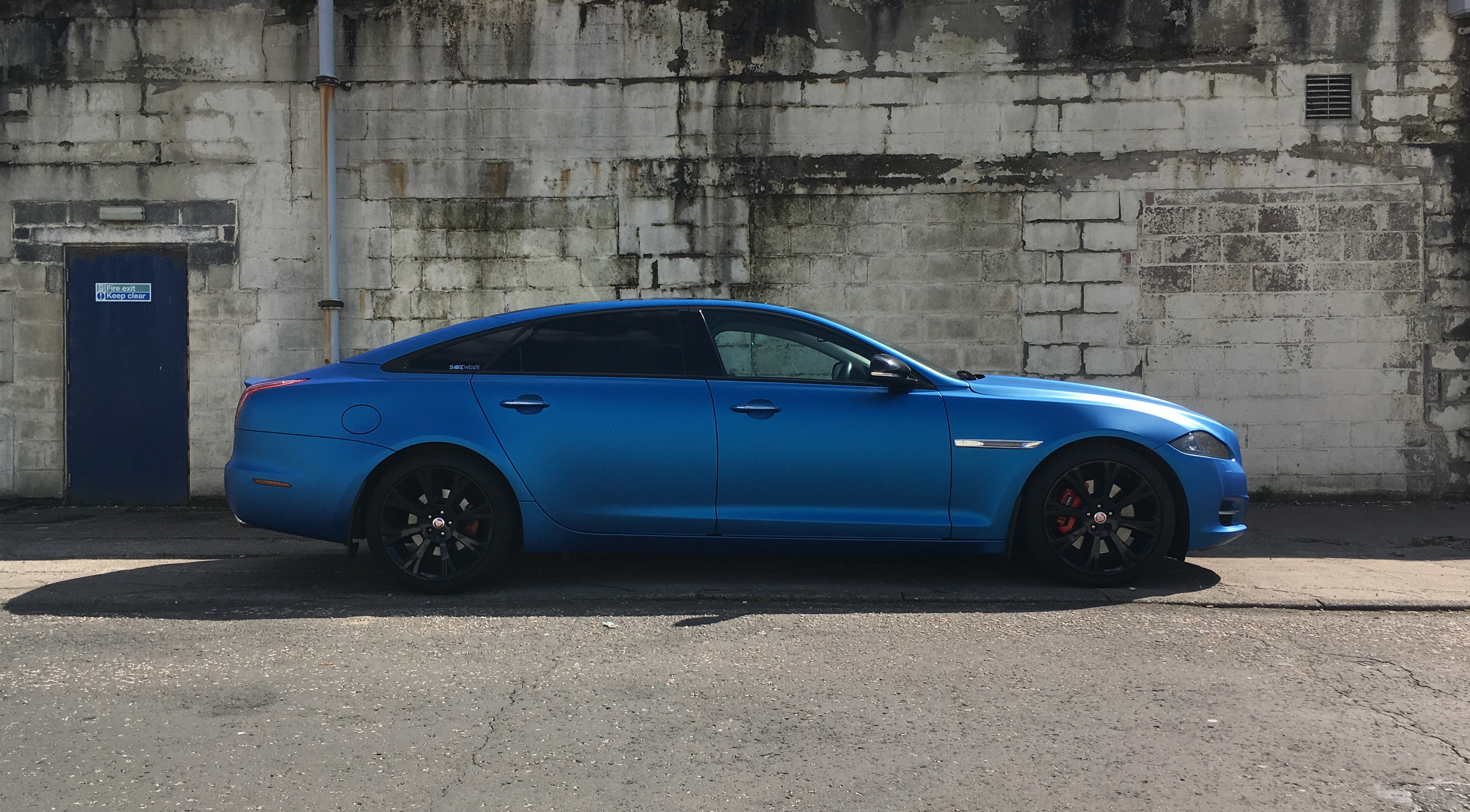 Satin Anodised Blue Jaguar
