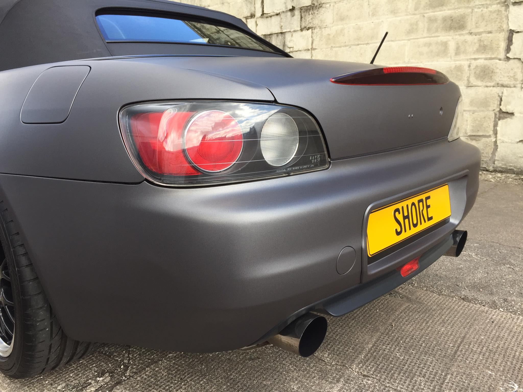 Hinda S2000 Rear Wrapped