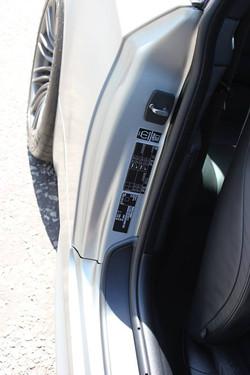 BMW M3 Satin Silver doorshuts