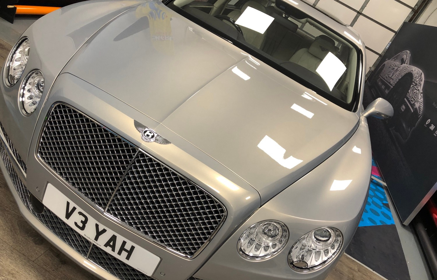 Bentley Paint Protection Film