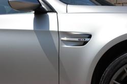 BMW M3 Satin Silver Side