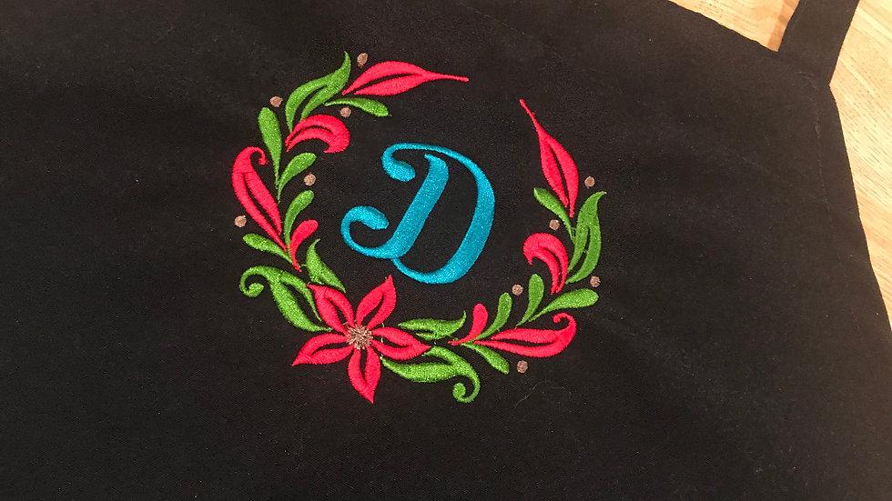 Christmas Wreath with Monogram