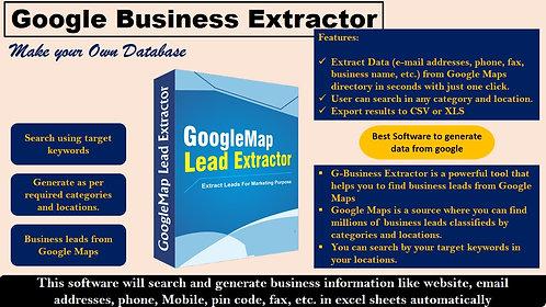 Google Data Extractor