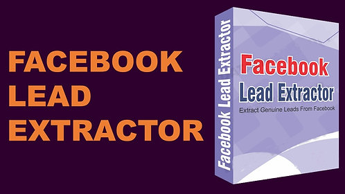 Facebook Lead Extractor
