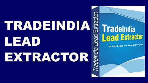 Tradeindia Lead Extractor