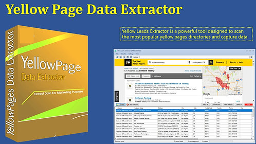 Yellow Page Data Extractor