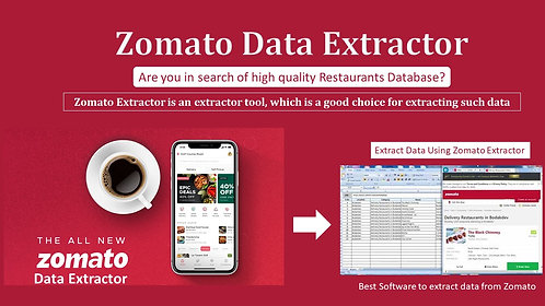 Zomato Data Extractor