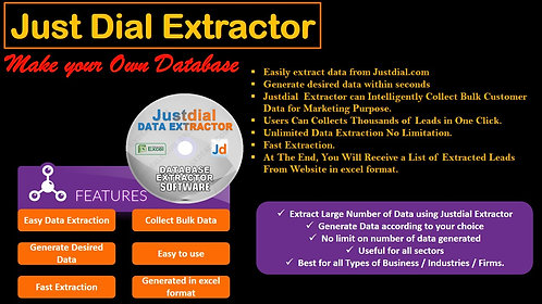 To Resell Justdial Data Extractor