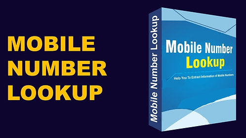 Mobile Number Lookup