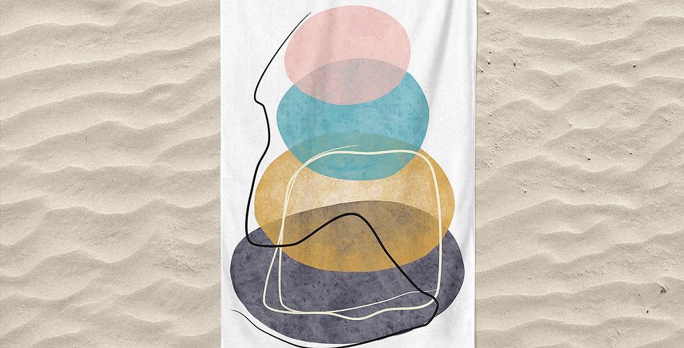 Abstra3 Plaj Havlusu X Smiling Walls