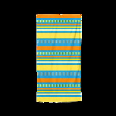 Summer Stripes/Yaz Çizgileri Plaj Havlusu X Smiling Walls