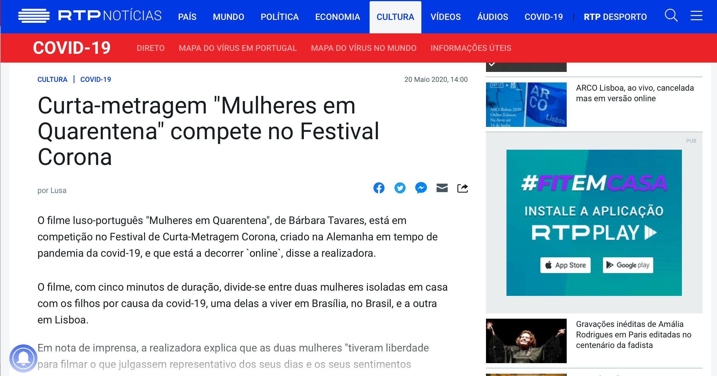 RTP Notícias - Portugal