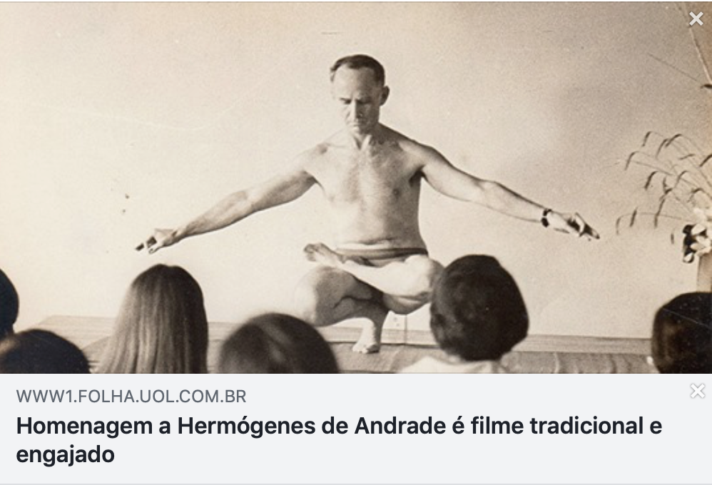 "Folha SP fala do longa ""Hermógenes"""