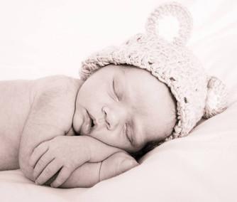 """Baby """"bear"""" sleeping"""
