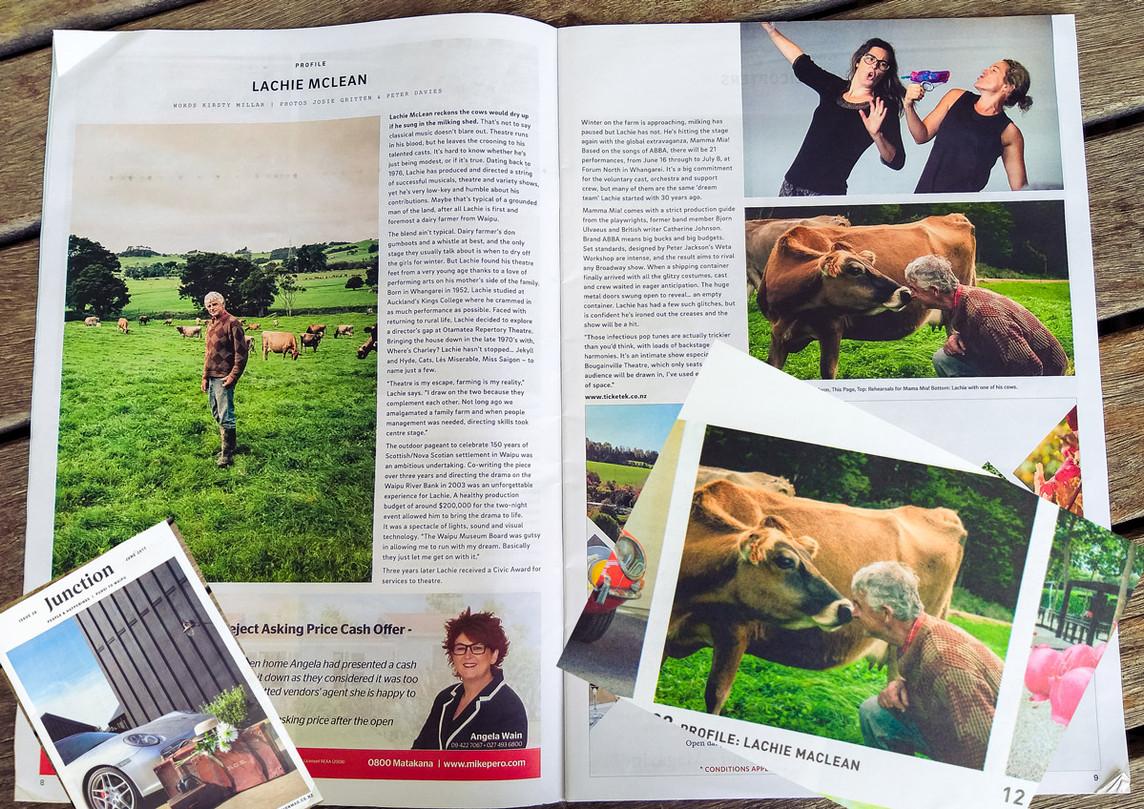"""Junction Magazine - """"Lachie McLean"""""""