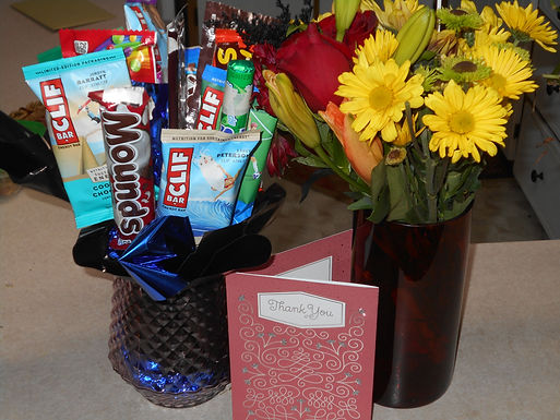Pic of Flower and Gift Arrangement