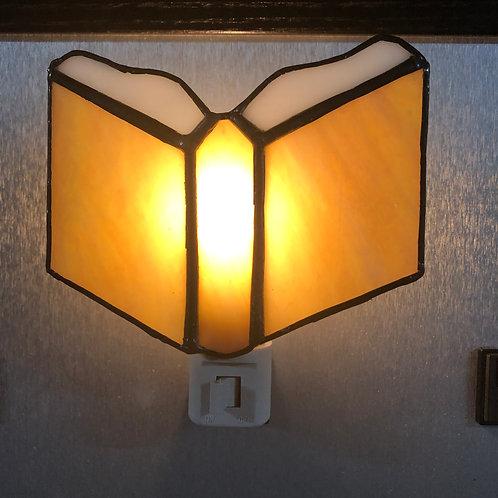 Book Stained Glass Nightlight