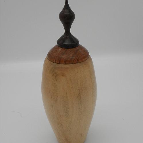 Maple Lidded Vessel/ Urn