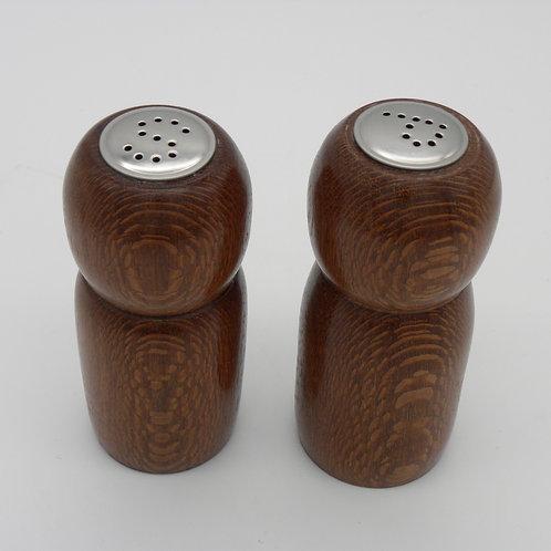 Leopardwood Salt & Pepper Shakers