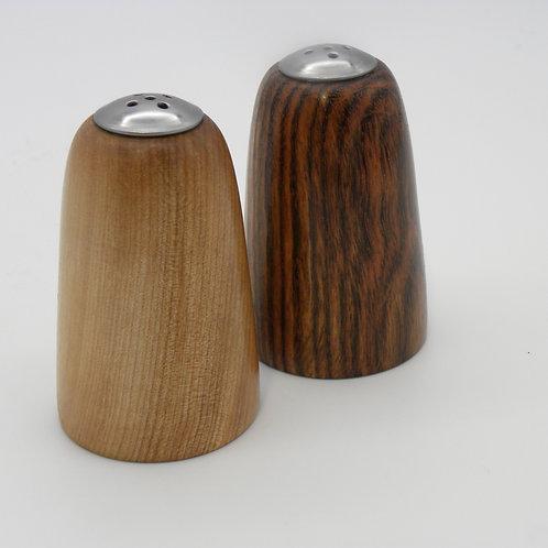 Bocote & Birch Salt & Pepper Shakers