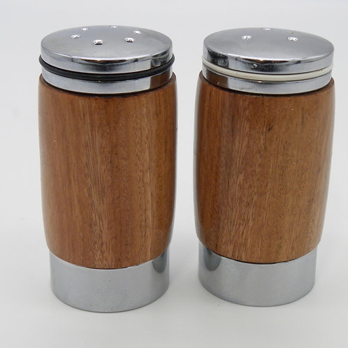 Quebracho Salt & Pepper Shakers