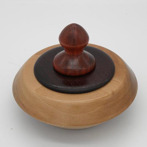 Birch Lidded Vessel/ Urn