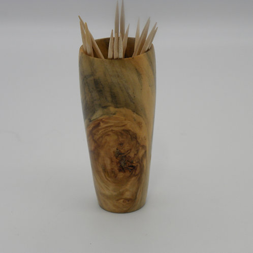 Norfolk Island Pine Toothpick Holder