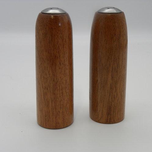 Sapele Salt & Pepper Shakers