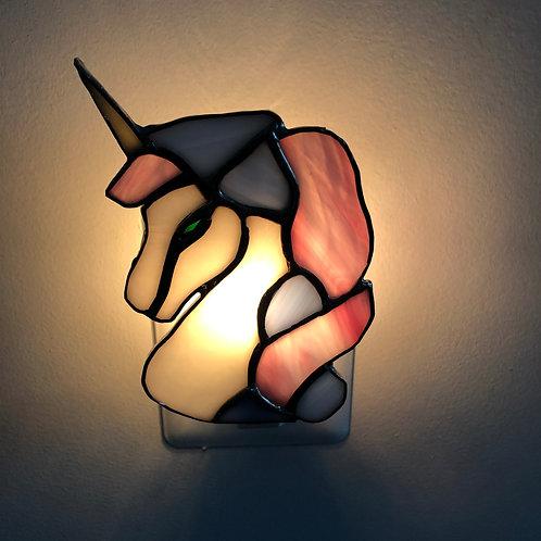 Unicorn Stained Glass Nightlight