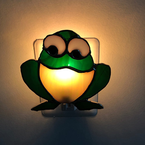 Frog Stained Glass Nightlight