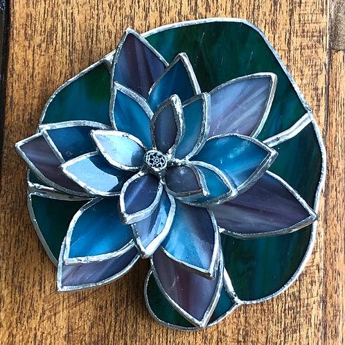 Lotus Flower on Lilypad
