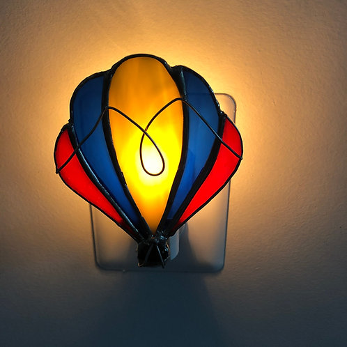 Hot Air Balloon Stained Glass Nightlight