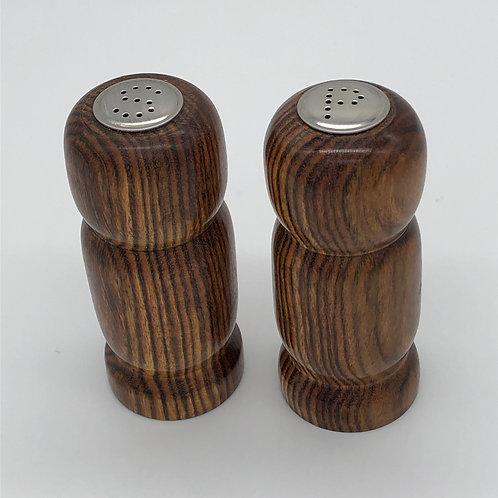 Bocote Salt & Pepper Shaker Set
