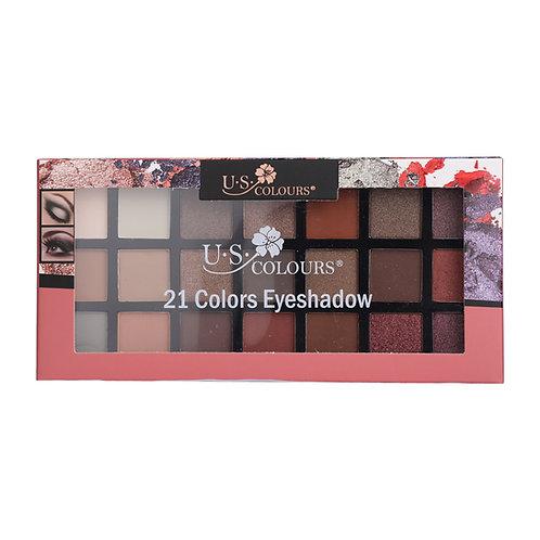 21 color Eyeshadow Palette - Pink