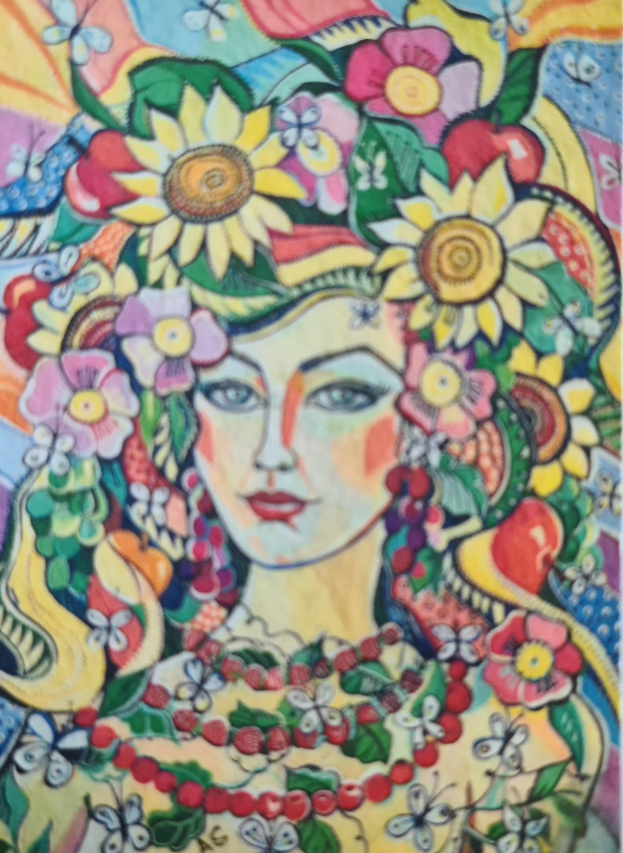 Pen Paint Print