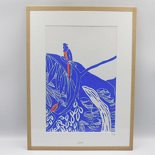 Linogravure - grand format