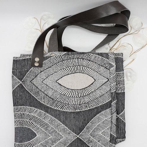 grand sac impressions géométriques