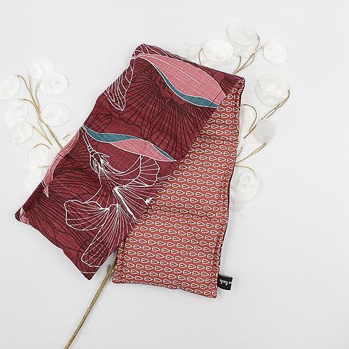 Bouillotte longue aux graines de lin