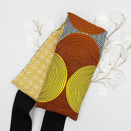Bouillotte ceinture aux graines de lin